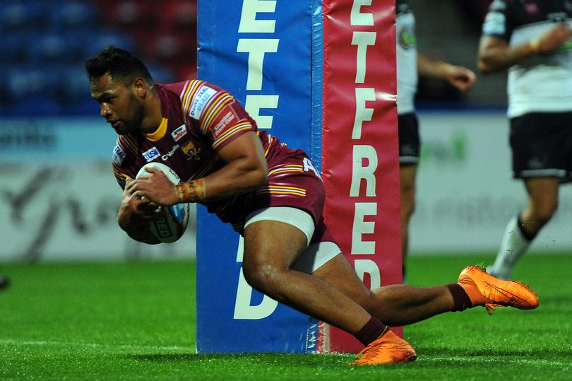 Huddersfield Giants hammer Widnes Vikings to cement their position in the Top-Eight